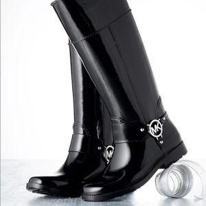 Michael Kors Fulton Harness Tall Rainboot